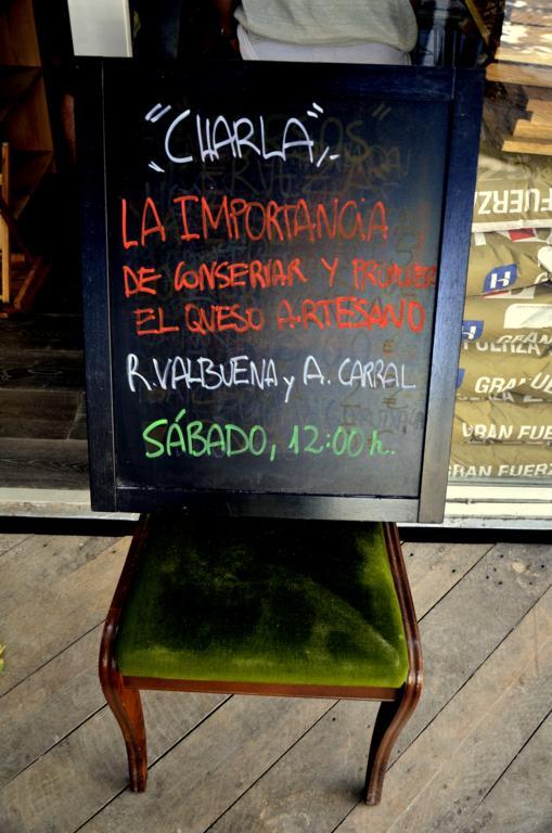 anuncio de charla quesos artesanos en the loaf in a box Quesos en una pop up bakery