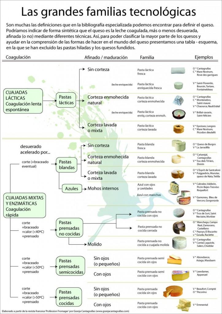 grandes familias tecnológicas quesos de leche cruda artesanos cantagrullas 1 724x1024 Tecnologías queseras