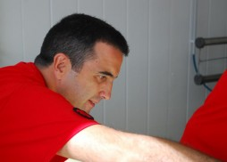 Óscar Velasco y Abel Valverde de Santceloni en Granja Cantagrullas 6
