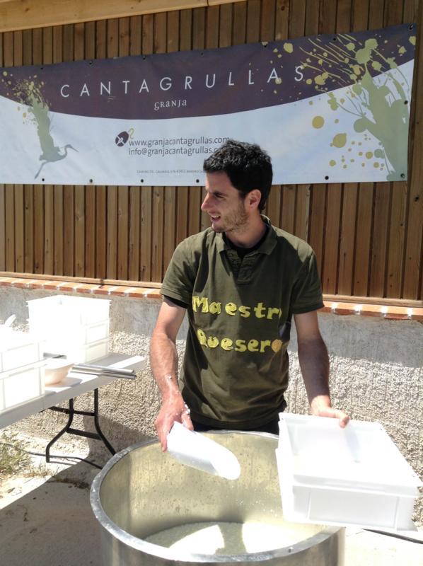 colegio san josé granja cantagrullas 1 Queseros por un día